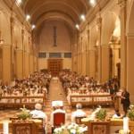 Volta Mantovana: interno Chiesa
