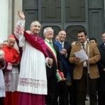 ingresso di Mons.Monari, vescovo di brescia